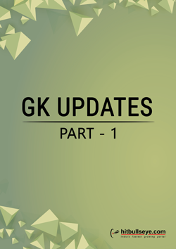 General Knowledge Updates July-Aug
